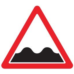 Дорожный знак 1.16 Неровная дорога (A=900)