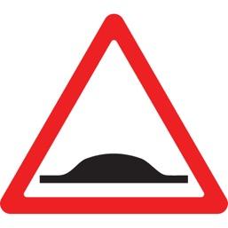 Дорожный знак 1.17 Искусственная неровность (A=900)