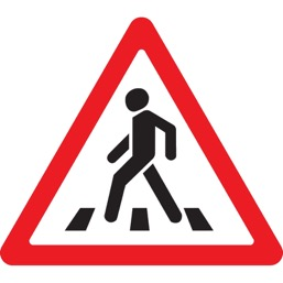Дорожный знак 1.22 Пешеходный переход (A=900)