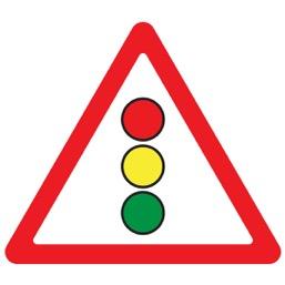 Дорожный знак 1.8 Светофорное регулирование(A=900)