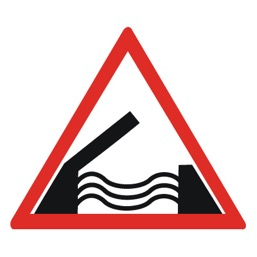 Дорожный знак 1.9 Разводной мост (A=900)