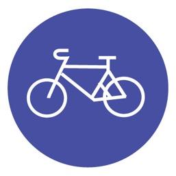 Дорожный знак 4.4 Велосипедная дорожка (D=700)
