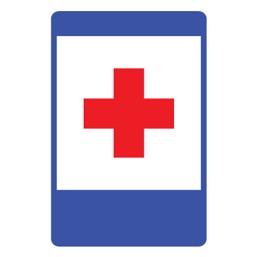 Дорожный знак 7.1 Пункт первой медицинской помощи (1050 x 700)