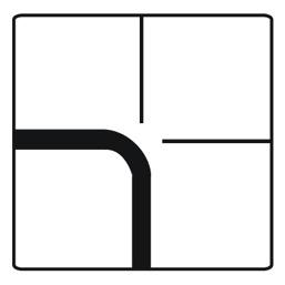 Дорожный знак 8.13 Направление главной дороги (700 x 700)
