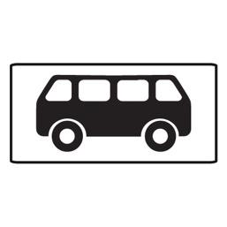Дорожный знак 8.4.4 Вид транспортного средства (350 x 700)