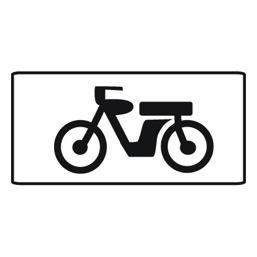Дорожный знак 8.4.6 Вид транспортного средства (350 x 700)