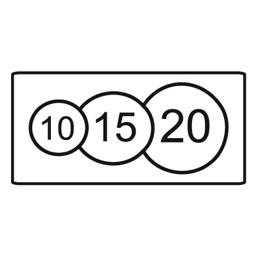 Дорожный знак 8.8 Платные услуги (350 x 700)
