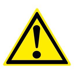 Знак CT27 Внимание!  Опасность (прочие опасности) (Пленка 700 х 700)