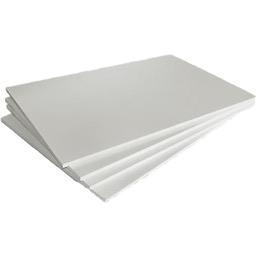 Пластик белый для знаков (100 x 200) 2-3 мм