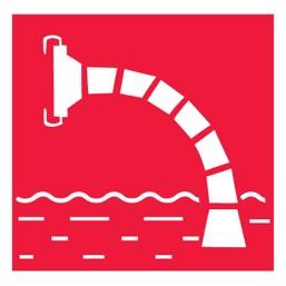 План эвакуации фотолюминесцентный (ГОСТ 12.2.143-2009) на пластике в пластиковой рамке (600 х 840)