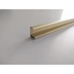 Рамка металлическая золотая